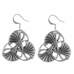 Art Nouveau Ginkgo Earrings