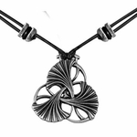 Art Nouveau Ginkgo Necklace