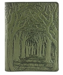 Avenue of Trees Leather Composition Notebook