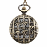 Bamboo Pocket Watch