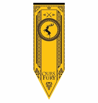 Baratheon Tournament Banner Flag - Game of Thrones