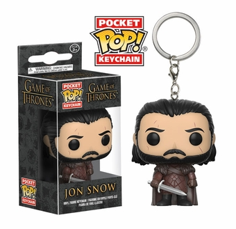 POP Game of Thrones Battle Jon Snow Keychain