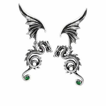 Bestia Regalis Dragon Earrings