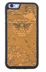 Bee Garden Leather iPhone Case