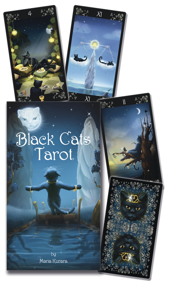 The Black Cats Tarot Deck Cat Amp Kitten Gifts