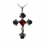 Black Rosifix Necklace