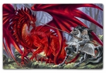 Bloodlust Dragon 12x18 Metal Sign or Wood Wall Art