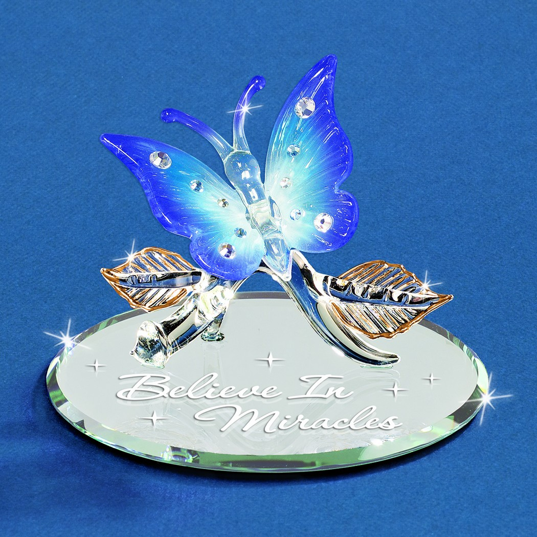 Glass Miracles Butterfly Butterfly Gifts Fairyglen Com