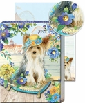 Boardwalk Yorkie Pocket Note Pad