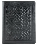 Bold Celtic Leather Composition Notebook