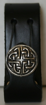 Bold Celtic <BR>Leather Mug Holder