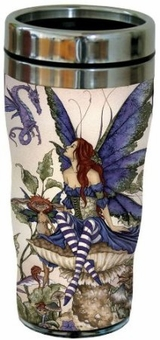 Bottom of the Garden Fairy Travel Mug