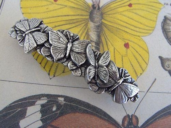 Butterflies Hairclip