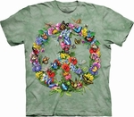 Butter Dragon Peace T-Shirt