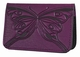 Butterfly Leather Card Holder