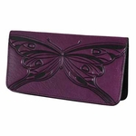 Butterfly Leather Smart Phone Wallet