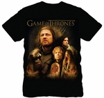 Cast T-Shirt: Game of Thrones