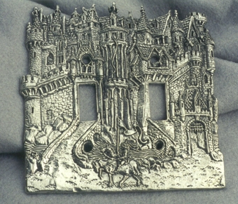 Castle Switch plate (Double)