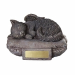 Cat Angel Urn