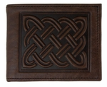 Celtic Braid Leather Wallet