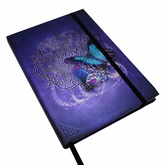 Embossed Celtic Butterfly Journal