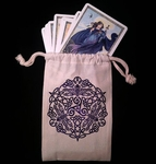 Celtic Dragonflies Dice & Tarot Bag