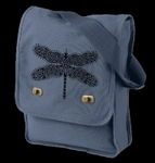 Celtic Dragonfly Field Bag