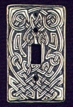 Celtic Heart Switch plate (single)