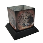 Celtic Horse Candle Hurricane