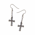 Celtic Knotwork Cross Earrings