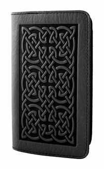 Celtic Leather Check Book