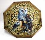 Celtic Owl Umbrella