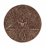 Celtic Pentacle Wall Plaque
