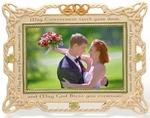 Celtic Wedding Photo Frame