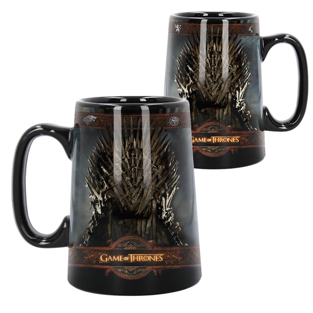 Hedendaags Ceramic Throne Tankard: Game of Thrones Gifts & Collectibles RN-87