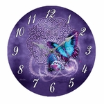 Celtic Butterfly Clock