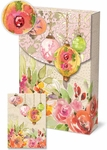 Chinoiserie Garden Decorative Pouch Notecards