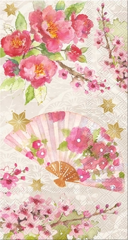 Chinoiserie Garden Guest Towels