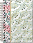 Chinoisserie Garden Spiral Bound Journal