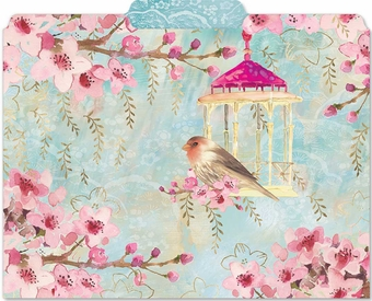 Chinoisserie Garden File Folders
