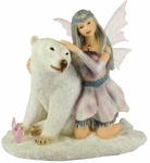 Chryschill Fairy with Polar Bear