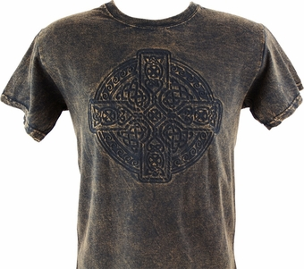 Circle of Life Embossed T-Shirt