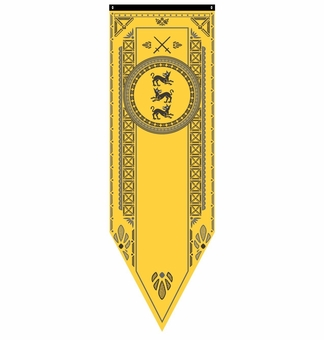 Clegane Tournament Banner Flag - Game of Thrones