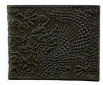 Cloud Dragon Leather Wallet