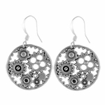 Cog & Wheel Earrings