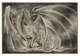 Coldfire Dragon 12x18 Metal Sign or Wood Wall Art