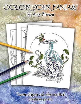 Color Your Fantasy Coloring Book