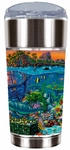 Coral Reef Island Travel Mug