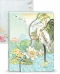 Crane Pond Mini Portfolio Notepad