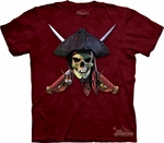 Cross Sword Pirate Shirt